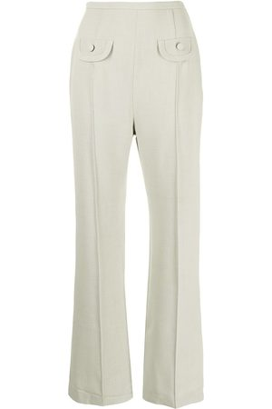 George Keburia High-waisted tailored trousers