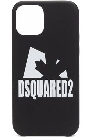 Dsquared2 Men Phones - Logo-print iPhone 12 case