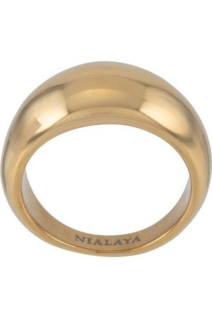 Nialaya Dome band ring