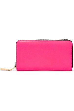 Comme Des Garçons Wallet Zip-around leather wallet