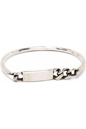 WERKSTATT:MÜNCHEN Plaque chain bracelet