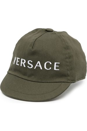 VERSACE Embroidered-logo cap