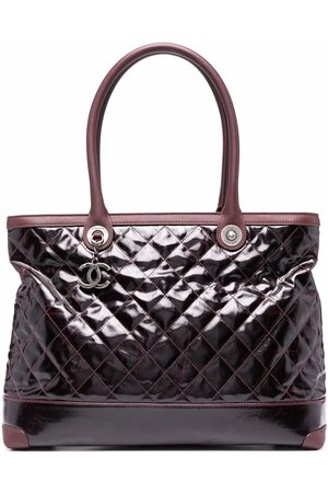 Chanel Pre-Owned 2012 CC diamond-quilted tote bag