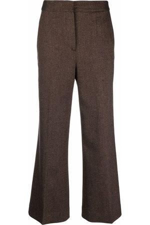 Victoria Victoria Beckham Flared high-waist trousers
