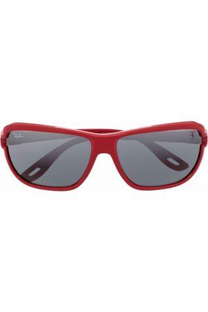 Ray-Ban Scuderia Ferrari rectangle-frame sunglasses