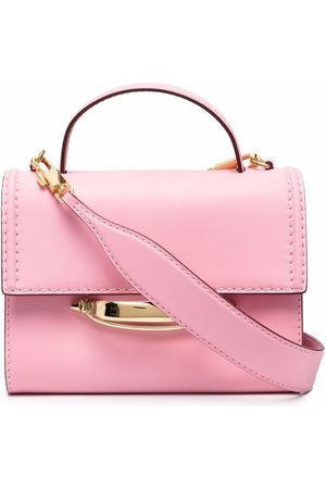 Alexander McQueen The Story leather tote bag