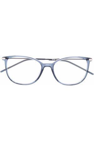 HUGO BOSS Transparent-frame glasses