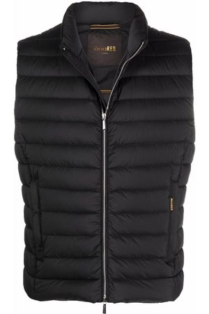 MOORER Feather-down padded gilet