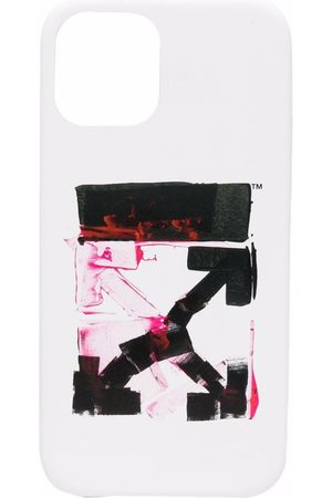 OFF-WHITE Men Phones - Arrows logo-print iPhone 12 case