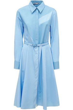 Stella McCartney Cotton Poplin Midi Dress