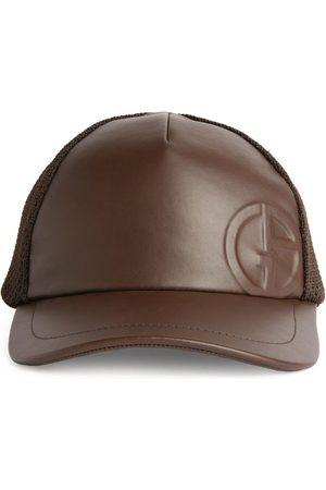 Armani Logo Embossed Baseball Cap