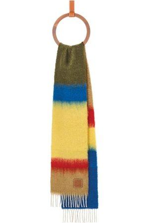 Loewe Mohair-Wool Striped Scarf