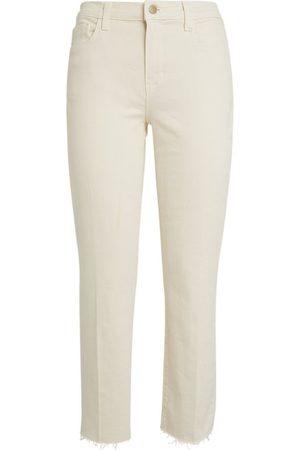 L'Agence Sada Cropped Jeans