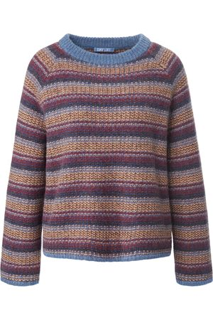 DAY.LIKE Round neck jumper long raglan sleeves multicoloured size: 10