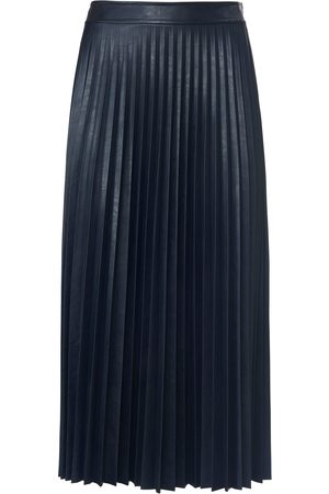 St. Emile Pleated skirt in leather look size: 10