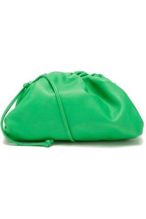 Bottega Veneta The Pouch Small Leather Clutch Bag - Womens
