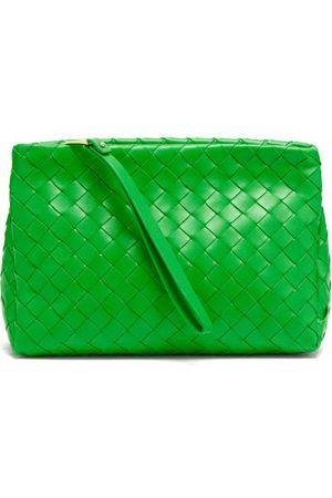 Bottega Veneta Intrecciato-leather Washbag - Womens