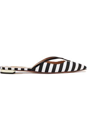 AQUAZZURA Women Slippers - Woman Slippers Size 38.5