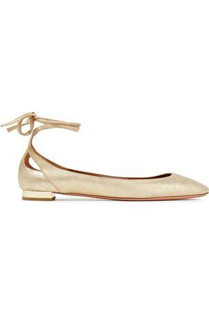 Aquazzura Woman Ballet Flats Size 34