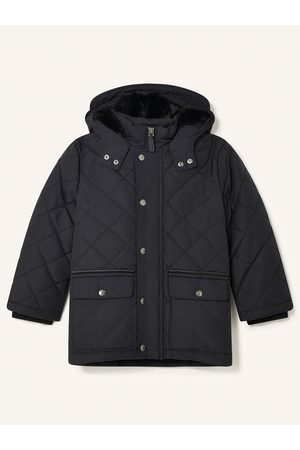 Monsoon Boys Quilted Coat With Hood
