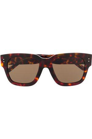 Linda Farrow Women Sunglasses - Tortoiseshell square frame sunglasses - Neutrals