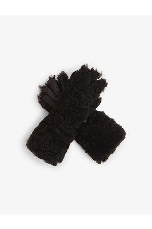 Bottega Veneta Soft-touch shearling gloves