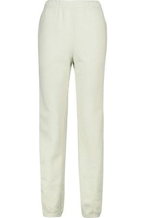 Les Tien Drawstring cotton fleece sweatpants