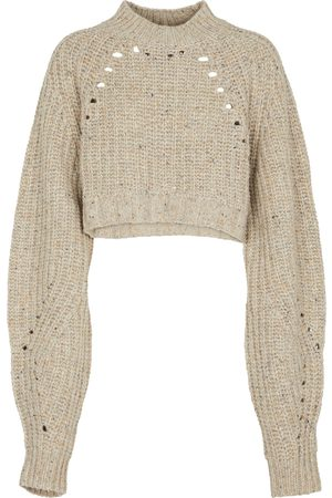 SIR Women Jumpers - Seville cropped wool-blend sweater