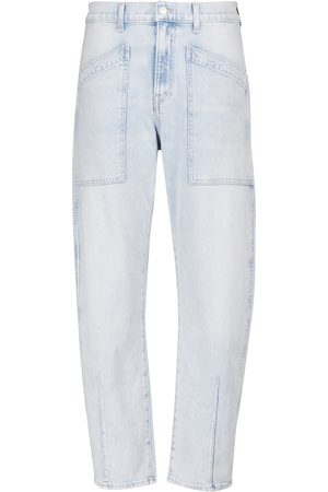 VERONICA BEARD Charlie high-rise cropped jeans
