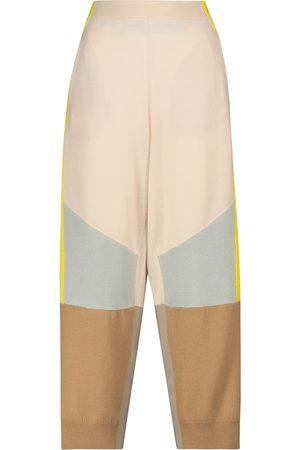 Stella McCartney Wool high-rise straight pants