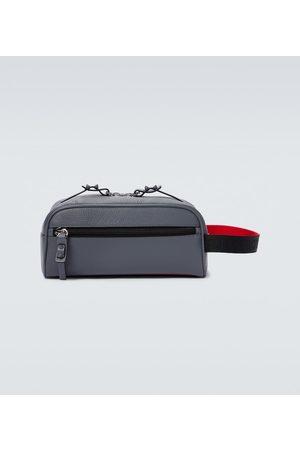 Christian Louboutin Men Toiletry Bags - Blaster leather washbag