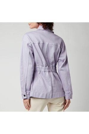 Ted Baker Women's Sofiaz Oversized Denim Jacket With Elastic Waist