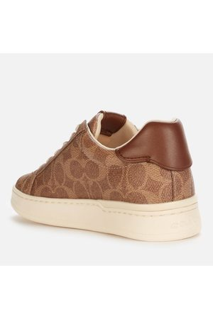 Coach Women Trainers - Women's Lowline Coated Canvas Trainers