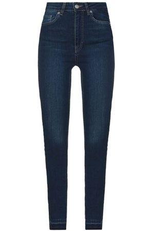 NA-KD BOTTOMWEAR - Denim trousers