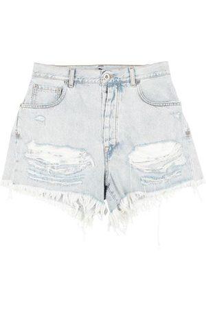 BEN TAVERNITI Women Shorts - BOTTOMWEAR - Denim shorts