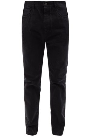 Prada Washed Slim-leg Jeans - Mens
