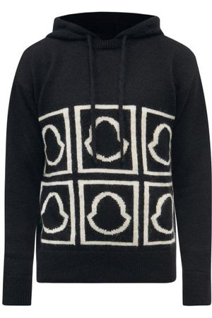 Moncler Logo-jacquard Wool-blend Sweater - Mens