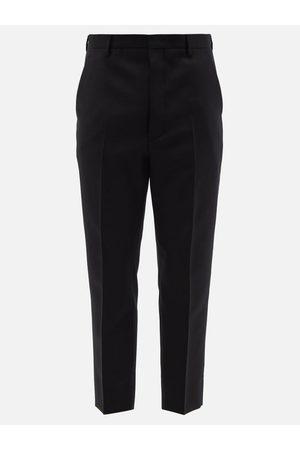 Prada Wool-blend Slim-leg Trousers - Mens