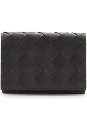 Bottega Veneta Intrecciato Leather Bifold Cardholder - Mens