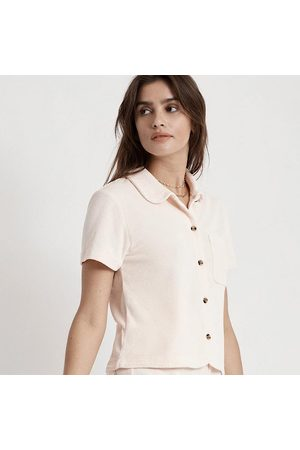 Brixton MARQUEE S/S TERRY TOP - SOFT