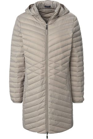 Mybc Long quilted down jacket hood size: 10