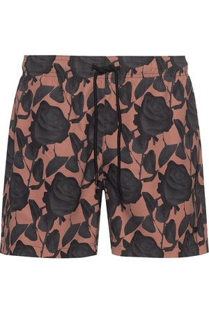 HUGO BOSS Patterned Swim Shorts