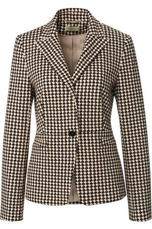 Uta Raasch Women Blazers - Jersey blazer houndstooth pattern multicoloured size: 10