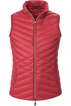 Mybc Quilted down gilet stand-up collar bright size: 14
