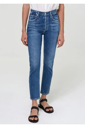 Citizens of Humanity Charlotte High Rise Straight Leg Jeans - Dancefloor