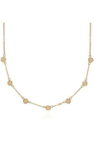 Anna Beck Classic Mini Disc Collar Necklace