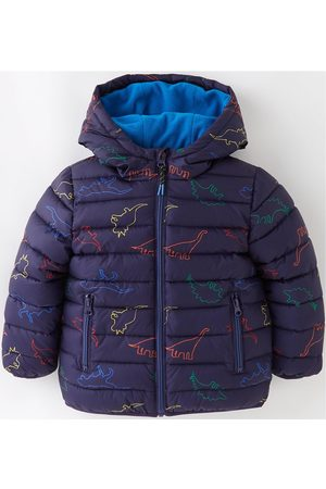 Mini V by Very Boys Dino Print Hooded Padded Coat