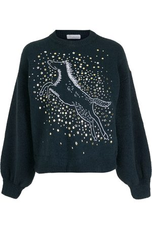 Nk Women Jumpers - Irvi embroidered pullover