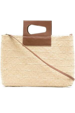 Nannacay Cacau straw bag - Neutrals