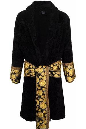 Versace Bathrobes - Medusa-print belted robe